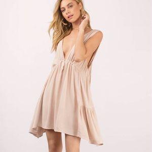Blush Swing Boho Dress